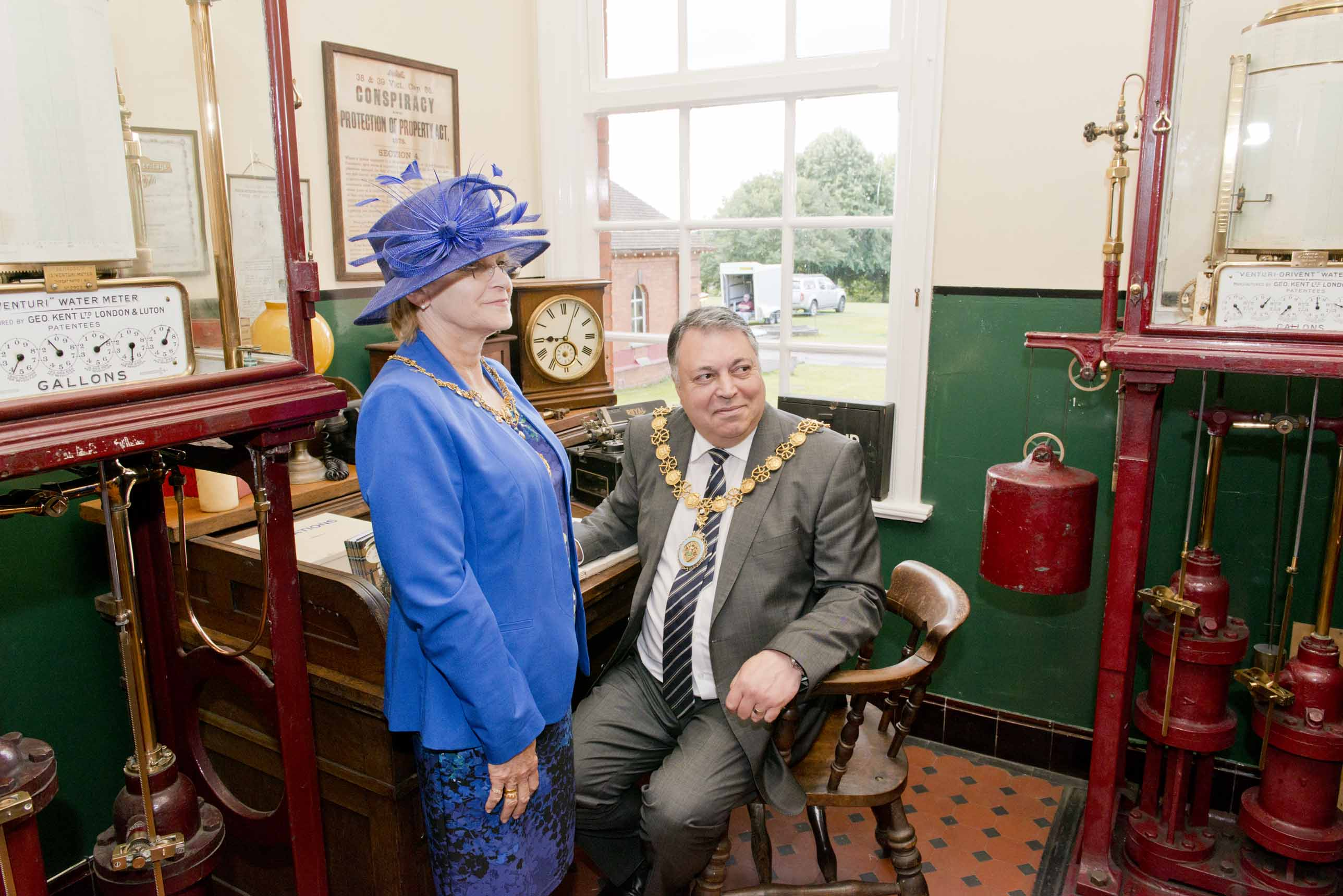 Mayor and Mayoress of Stafford